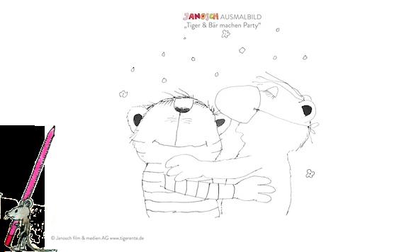 Janosch Ausmalbilder Zum Ausdrucken Tiger Und Baer Machen